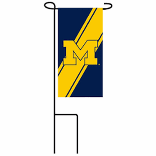 NCAA Team Sports Michigan Mini Flag Set P409920