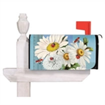 Daisies and Ladybugs Evergreen Mailbox Cover 56698