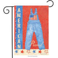 """American The Beautiful 14S2931 Evergreen Suede Garden Flag 12.5"""" x 18"""""""