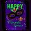 """Thumbnail: Happy Mardi Gras 168908BL Evergreen Applique Garden Flag 12.5"""" x 18"""""""