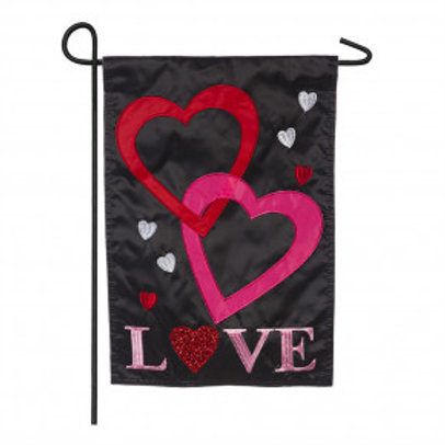 "Love Solar LED LIGHT UP 16SL8920 Garden Flag 12.5"" x 18"""