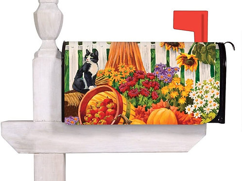Harvest Field Evergreen Mailbox Cover 56630