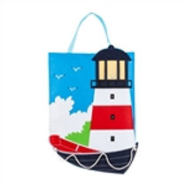 Lighthouse LIGHTED Door Décor 2DHF1271BL Evergreen Door Hanger