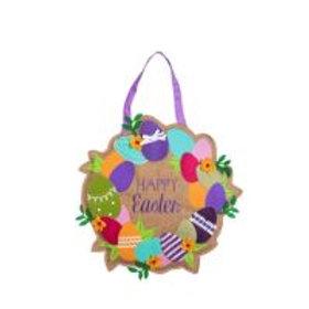 Happy Easter Wreath Door Décor 2DHB1239