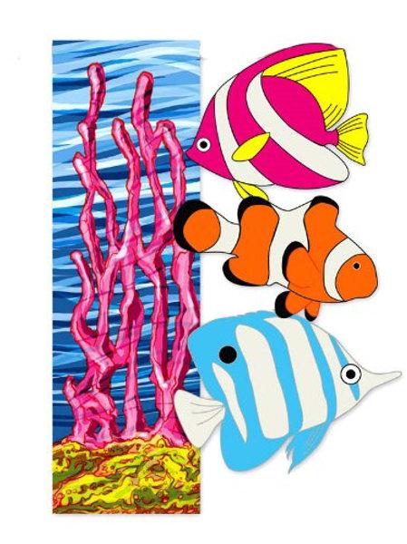 """Under the Sea 161285 Evergreen Applique Garden Flag 12.5"""" x 18"""""""