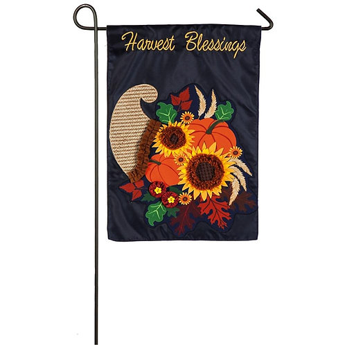 """Cornucopia 14L8318 Evergreen Linen Garden Flag 12.5"""" x 18"""""""