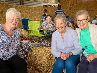 Seniors at Farm Day