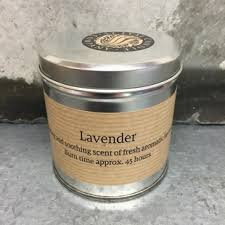 Scented Candle - Lavender Tin