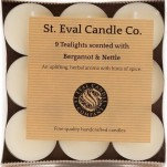 Scented Candle - Bergamot and Nettle Pack of Tealights