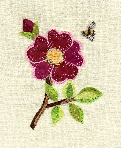 Rose Slow Stitching Kit