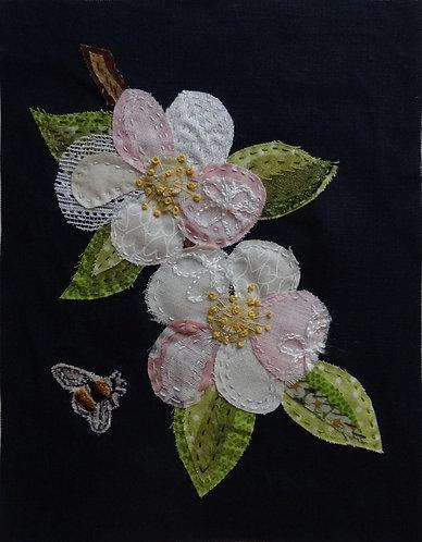 Fruit Blossom Slow Stitching Kit