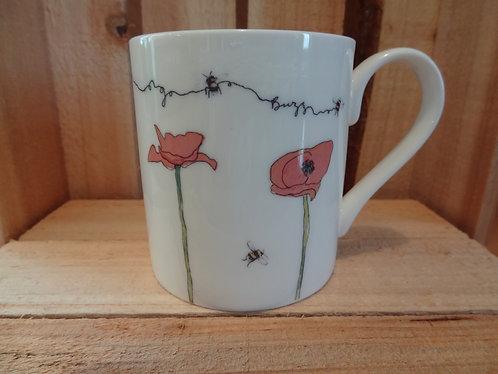 Mug - Bee and Poppy