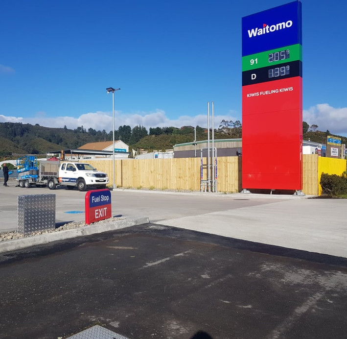 Waitomo Fence