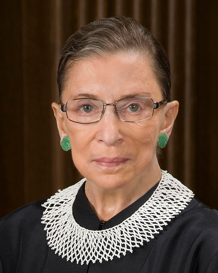 Supreme Court Justice Ruth Bader-Ginsburg