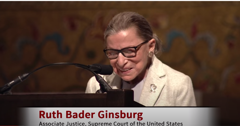 Supreme Court Justice Ruth Bader-Ginsberg Speaking at Stanford University 2017