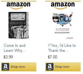 Presenting Socio-Political E-Books on Amazon.com