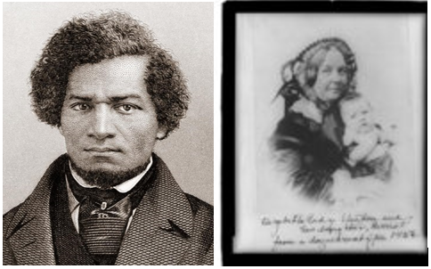 Abolitionists Elizabeth Cady Stanton & Frederick Douglas. July 4th Weekend