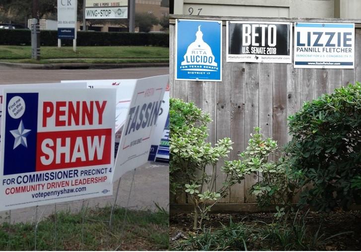 Mid-Term Election Vote Democratic Texas Blue Wave