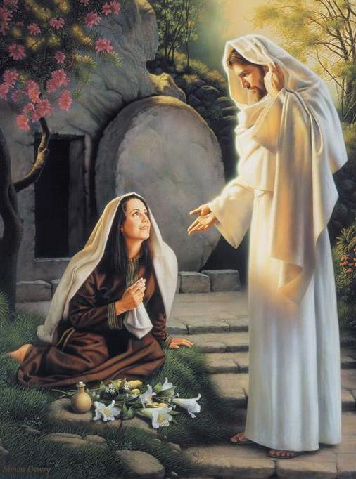 "Mary Magdalene the First Christian.  ""The Tomb is Empty. He is Risen"" Happy Easter"