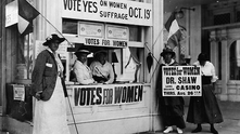 Joint Resolution of Congress 1971 Designating August 26 of each year as Women's Equality Day