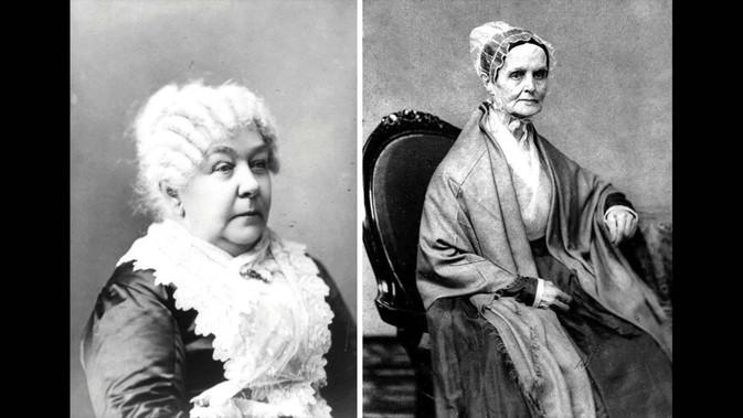 Lucretia Mott, Elizabeth Cady Stanton & the World Anti-Slavery Convention of 1840. Setting the S