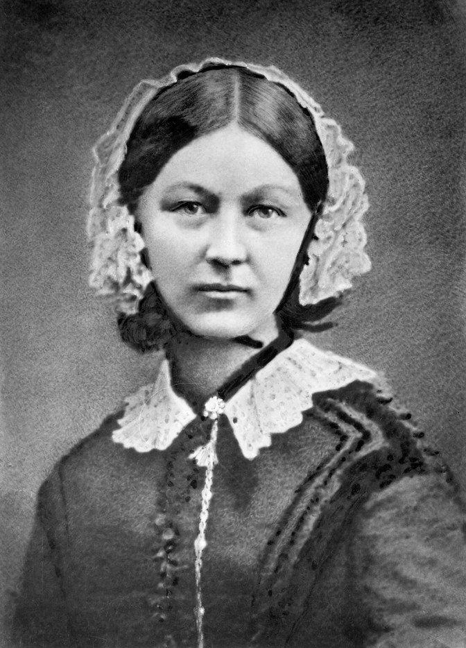 Florence Nightingale. Women's History Month Day 9