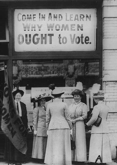 Why Women Ought to Vote