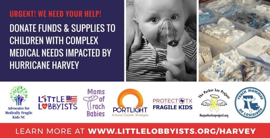 #LittleLobbyists, #SaveOurCare, #IamAHealthCareVoter, #HurricaneHarveyRelief