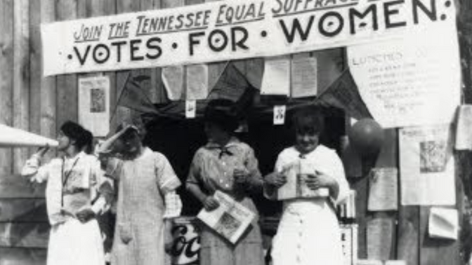 The 36th State. Tennessee Delivers the 19th Amendment.  Women's Suffrage Centennial
