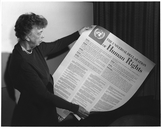 Eleanor Roosevelt. Ratify the ERA. Women's History Month Day 23