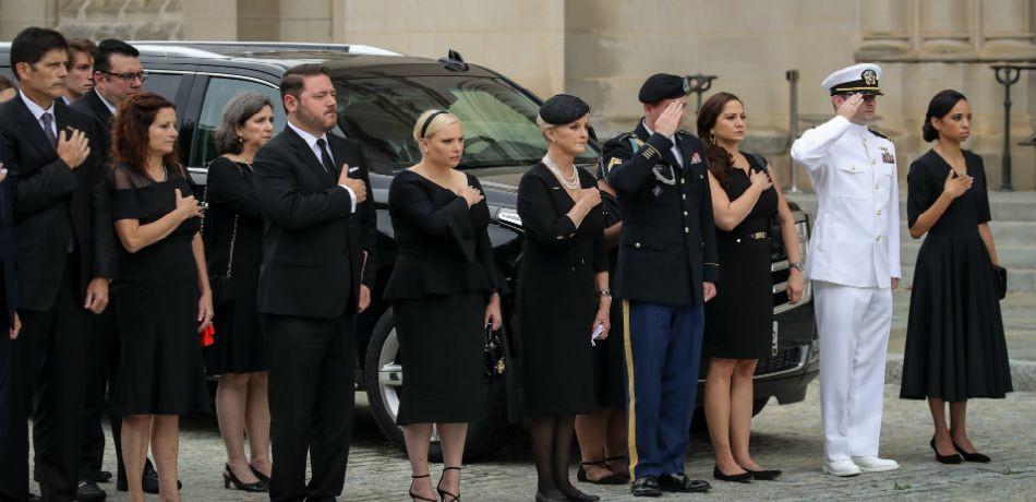 John McCain's 7 Children, Getty Images