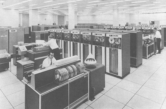 NASA IBM Mainframe Computers that powered early Space Flight