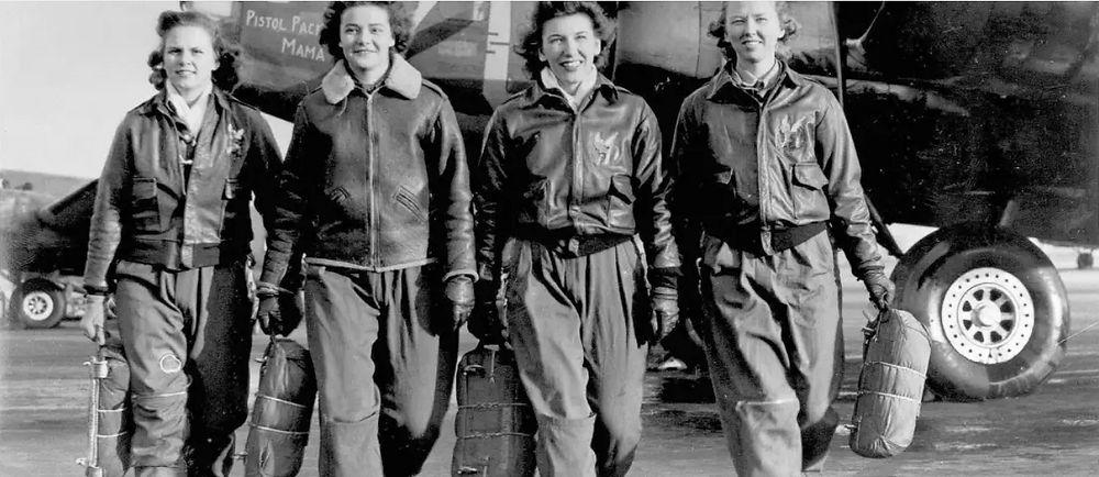 Texas WASPs, July 19, 1943. National Archives
