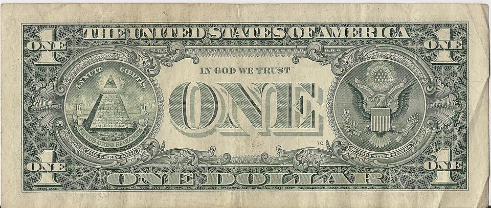 Pyramids on the American Dollar Bill.  In God We Trust???