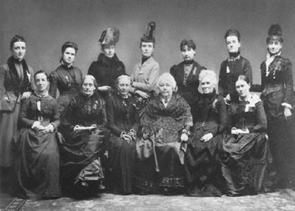 History of Women's Suffrage Elizabeth Cady Stanton