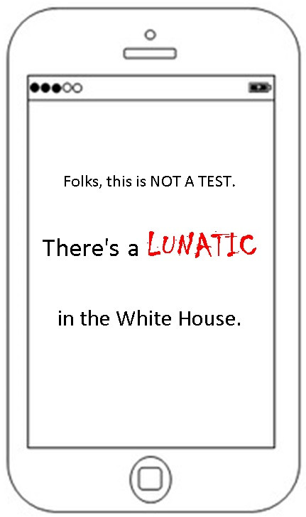 Lunatic in the White House