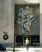 Me Outside AP NYC Headquaters October 20