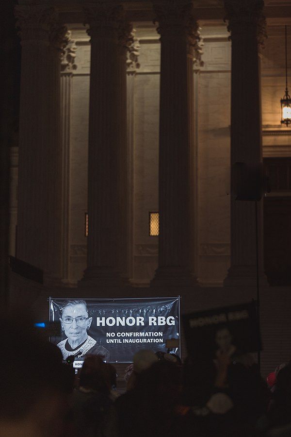 Honor RBG. No Confirmation Until Inauguration. Yash Mori