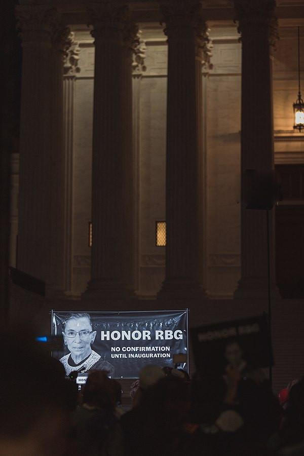 HONOR RBG. No Confirmation Until Inauguration