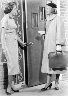 Door Knocking? Stop Knocking and Start Ringing, Women's History Month Day 26