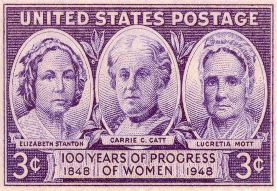 Women's Suffrage 3 Cent Stamp