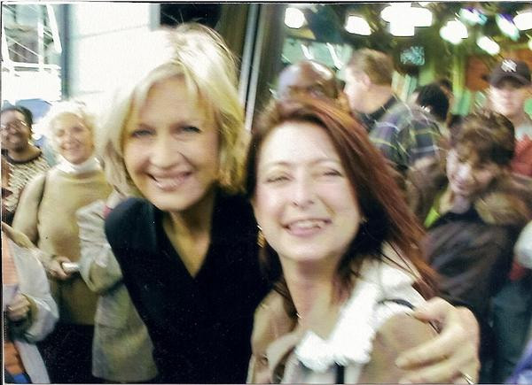 Diane Sawyer & I Good Morning America
