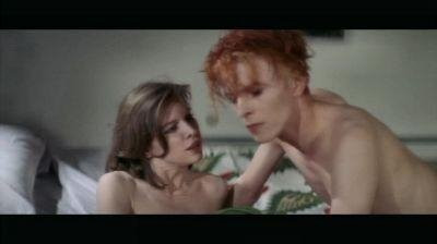 Mary Lou in the Man Who Fell to Earth with David Bowie