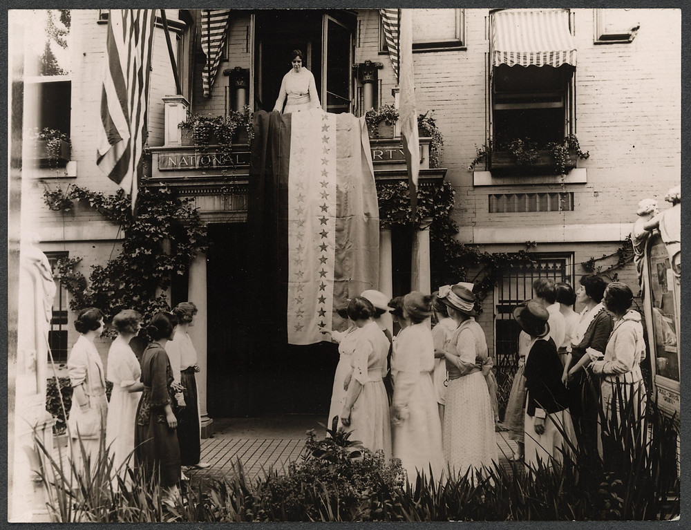 Alice Paul Rallying Women for the Equal Rights Amendment