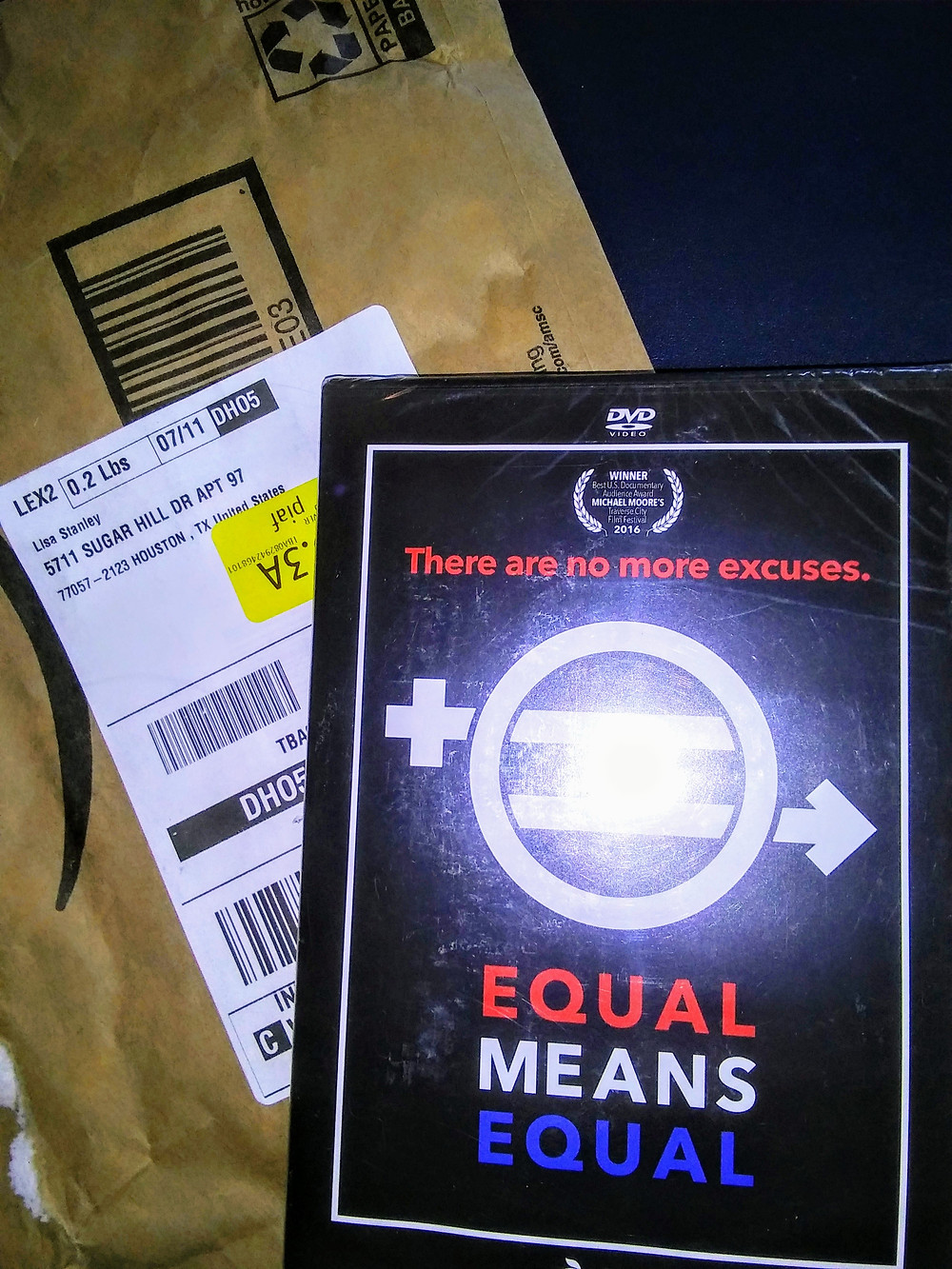 Equal Means Equal.  The Movie