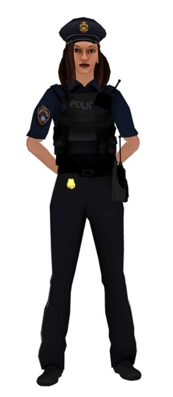 SLANDER of a FEMALE Police WOMAN on Channel 13