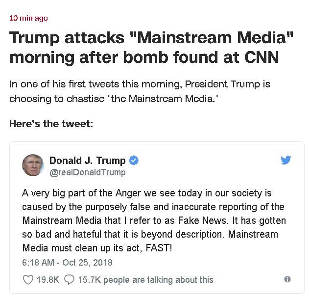 Real News, Fake President