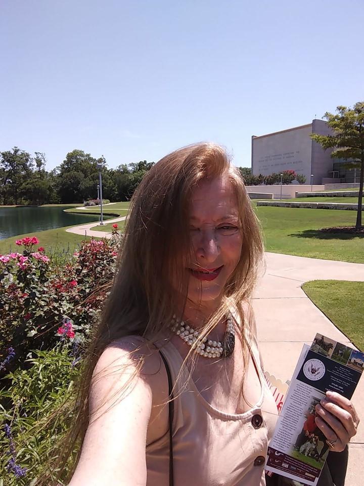 Lisa Annette Stanley Outside the Bush 41 Presidential Library, June 12, 2019