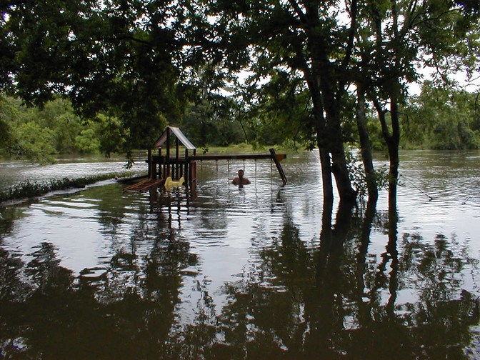 Pray for the Bayou City.  Hurricane Harvey is our 500-year Flood