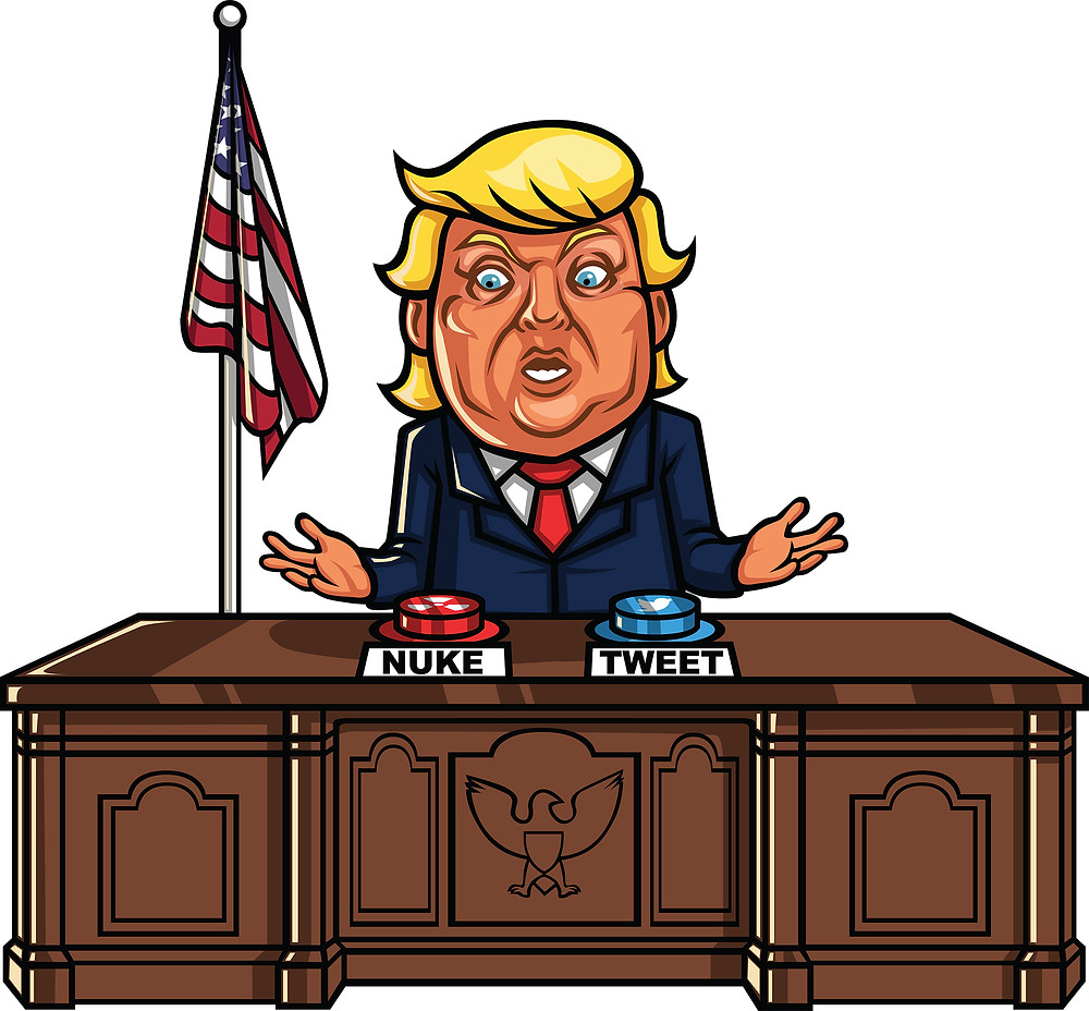 HELP!!! There's a LUNATIC in the White House. Image Credit: FriendlyStock.com